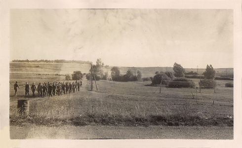 Soldiers in Formation near