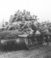 823rd 30th inf. riding on tank destroyers