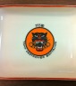 773re rectangula reunion plate with logo
