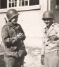 16th Grp Pilone  Whitt and Juan Vela in Pirmassens  Ger. 1945