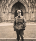 16th Grp Sgt Gaffri at Westminster Abby  London 1944
