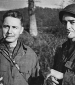 16th Grp  MSgt Williams and Sgt McIlmoil in Germany 1944