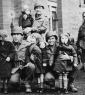 16th Grp  soldiers with orphans in France 1944