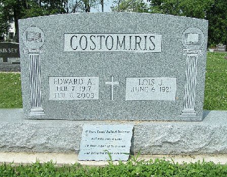 Edward-A-Costomiris---Gravestone