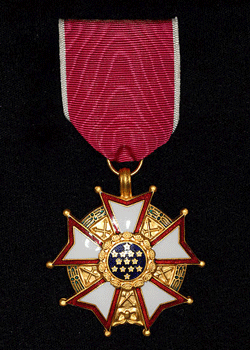 Franklyn-Walls--Legion of Merit