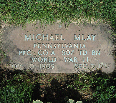Michael-Mlay-Headstone