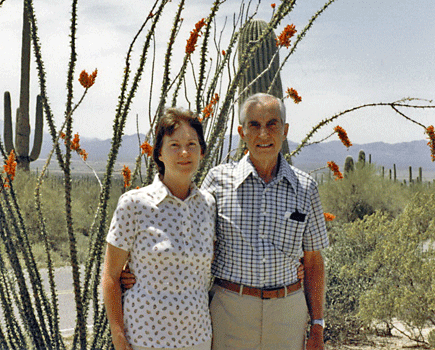 Charles Dike and wife