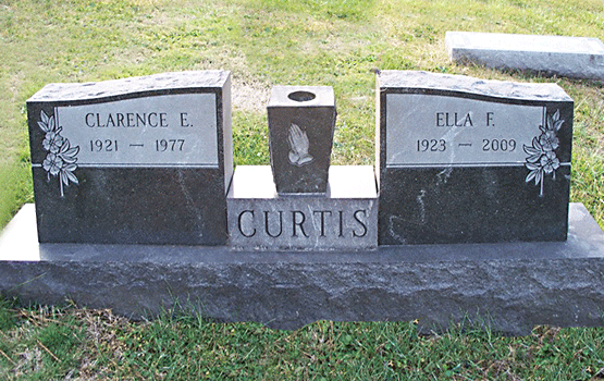 Clarence E Curtis Grave Marker