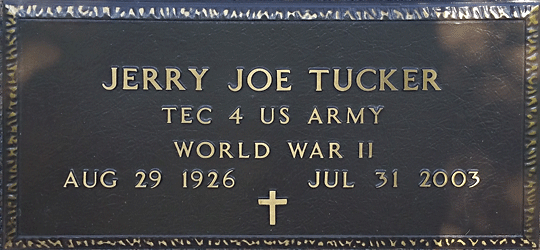 Jerry J Tucker 5