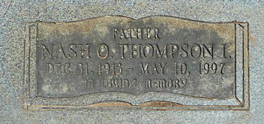 Nash O. Thompson 4