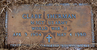 Clabe Sherman 4
